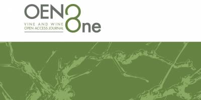 Articles published in OENO One in April 2021
